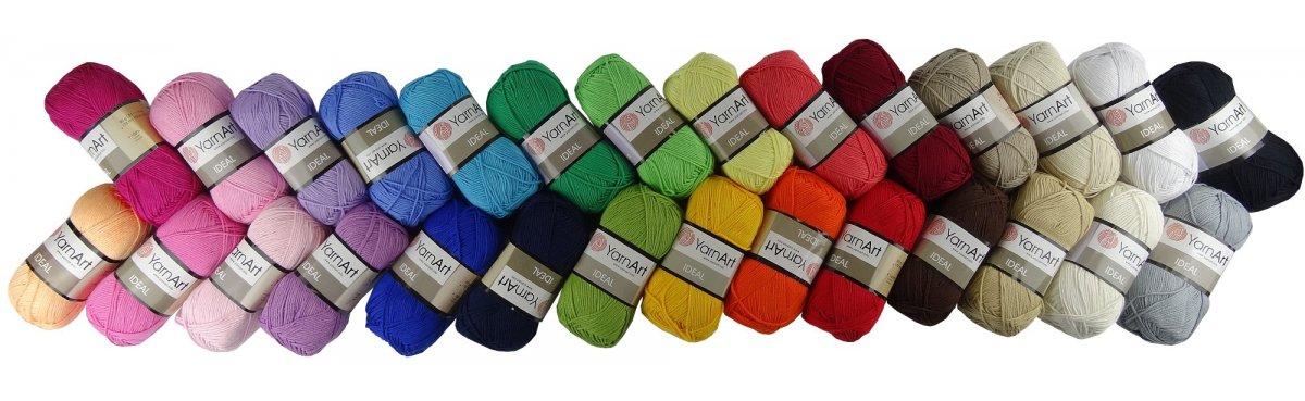 Ideal to idealna tania bawełna w pięknych kolorach dostępna tylko u nas